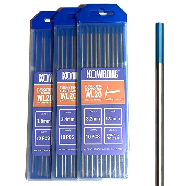 2% Lanthanated Blue Tungsten Electrode for TIG Welding