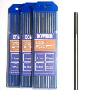 2% Ceriated  [WC20] Tungsten Electrodes 1.6mm/2.4mm/3.2mm | GREY