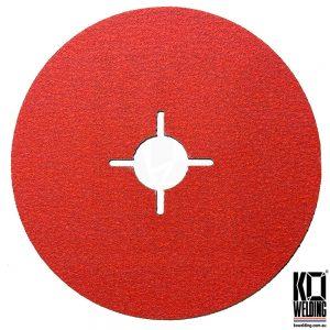 P120 GRIT | Ceramic Resin Fibre Disc | 125mm/5inch