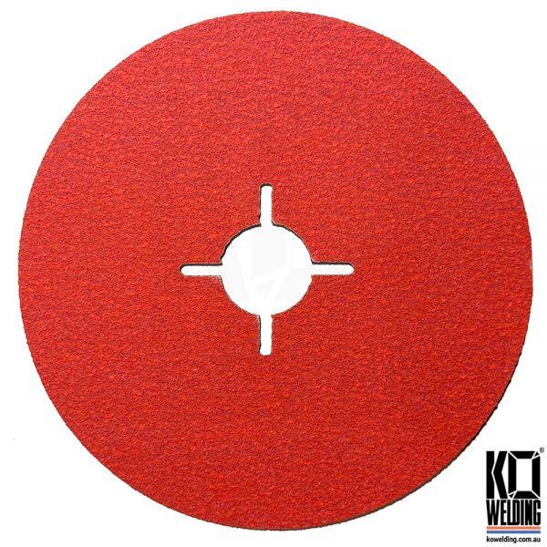 P120 Ceramic Fibre Disc 125mm