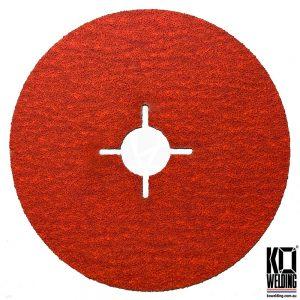 P80 GRIT | Ceramic Resin Fibre Disc | 125mm/5inch
