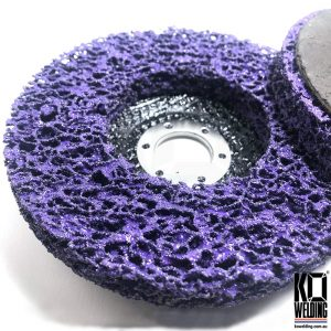 Purple Clean & Strip DC Poly Disc | 125mm/5inch