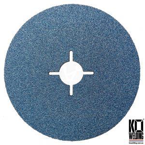 P80 GRIT | Zirconia Resin Fibre Disc | 125mm/5inch