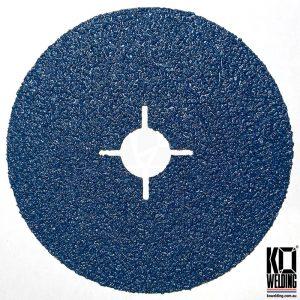 P40 GRIT | Zirconia Resin Fibre Disc | 125mm/5inch
