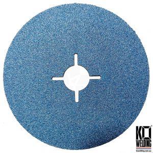 P120 GRIT | Zirconia Resin Fibre Disc | 125mm/5inch