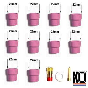 10 x FERNI [#12] Tig Cups | 40% off BULK KIT