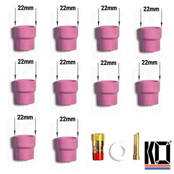#12 Tig Cup kit