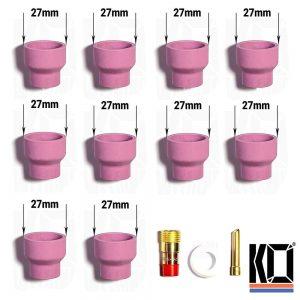 10 x PUDGY [#14] Tig Cups | 40% off BULK KIT