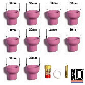 10 x THICC [#16] Tig Cups | 40% off BULK KIT