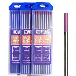 Multi-Mix [EWG] Tungsten Electrodes 1.6mm/2.4mm/3.2mm | PINK