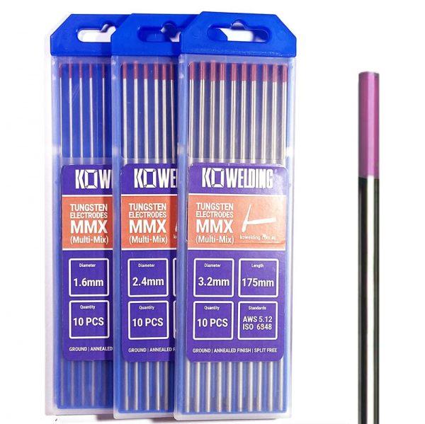 Pink Multi-Mix EWG Welding Tig Tungsten Electrodes