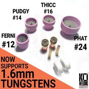 The MEGA Ceramic Triple Filtration KIT for 2.4mm & 1.6mm Tungstens