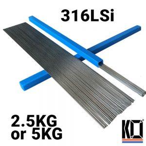 [ER316LSi] METER LONG | Stainless TIG Filler Rods | 1.6mm/2.4mm/3.2mm