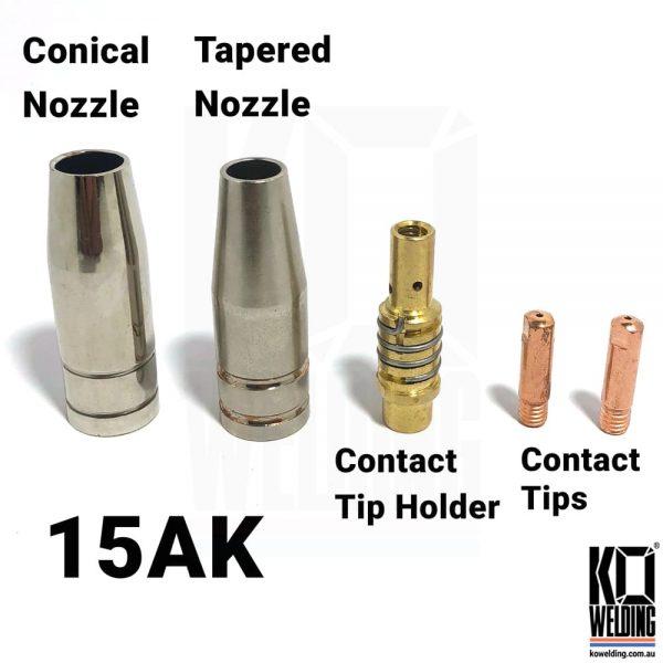 15 AK Mig Gun consumables