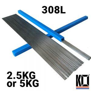 [ER308L] METER LONG | Stainless TIG Filler Rods | 1.6mm/2.4mm/3.2mm