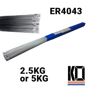 4043 1m Aluminium TIG Rod