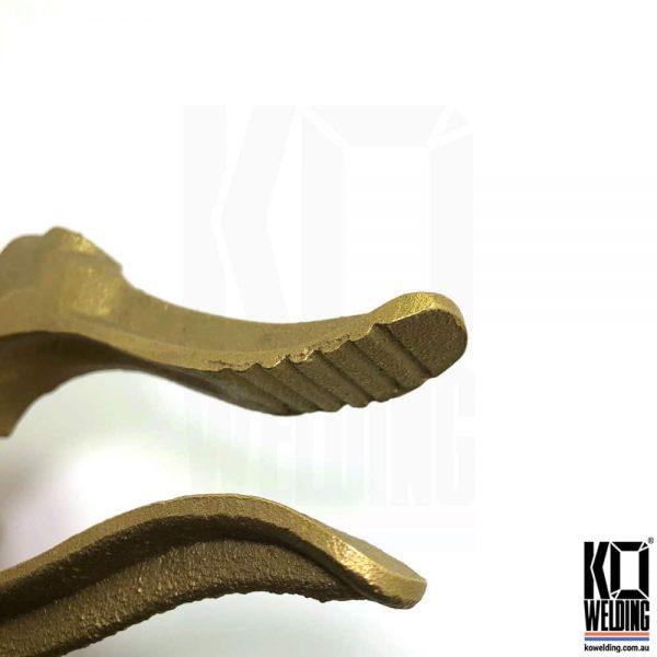 Crocodile Brass Earth Clamp