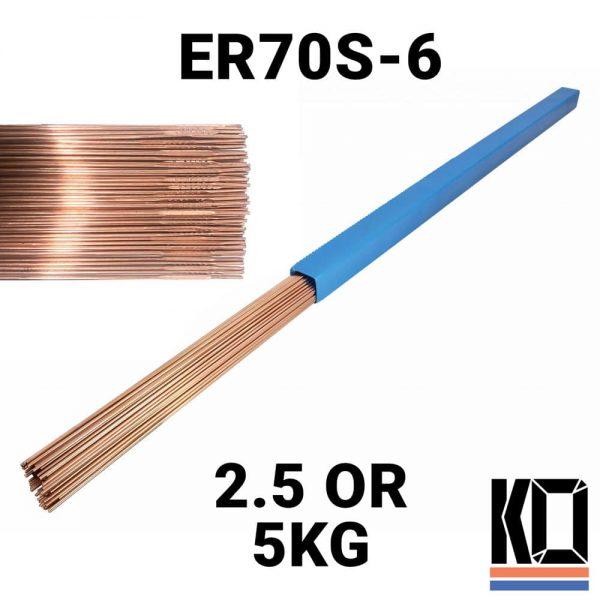 ER70s-6 1m Mild steel TIG Rod