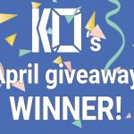 Aaaand the April giveaway goes to…