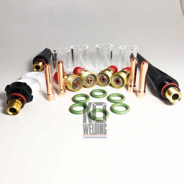 17/18/26 Series pyrex tig cup kit