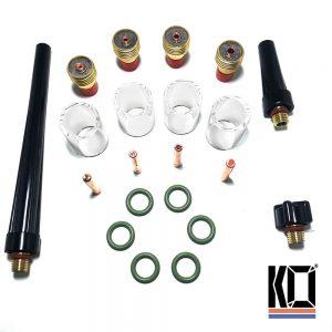 9/20 Series | Pyrex Starter TIG Kit | 21 PCS