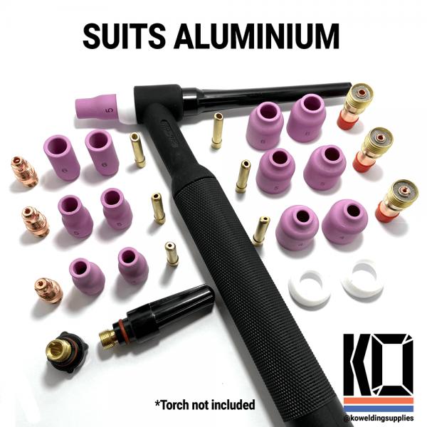 Aluminium Tig cup kit