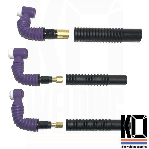 ComfyFLEX Purple Flexible Tig Torch Neck