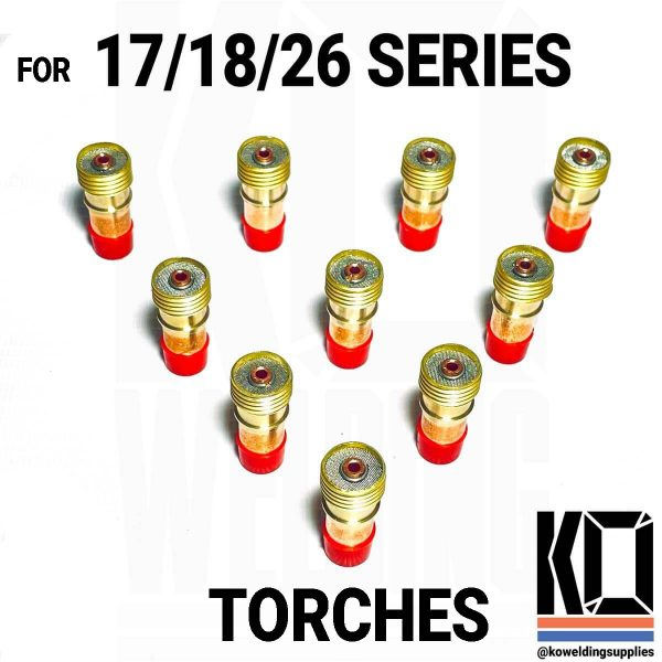 17/18/26 gas lens TIG Torch converter for 9 series cups