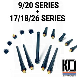 5x TIG Torch Back Caps Pack | All Size Torches | Short/Medium/Long
