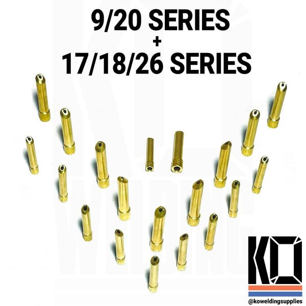 10x Brass Wedge collets