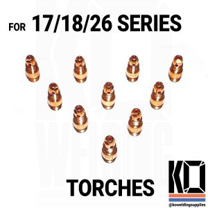 10 x Collet Body Converter Pack | RUN 9/20 CUPS on 17/18/26 TORCHES