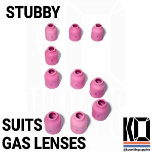 10x STUBBY #5 Ceramic Cup Pack
