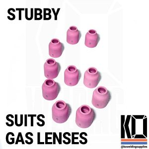 10x STUBBY #6 Ceramic Cup Pack