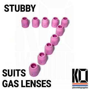10x STUBBY #7 Ceramic Cup Pack