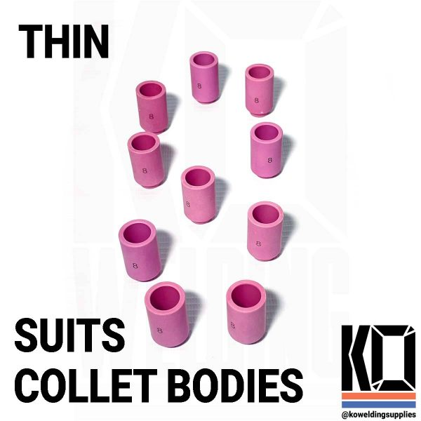 number 8 thin tig cup